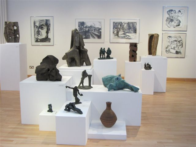 Alan Thornhill's exhbition at Stroud Museum, Summer 2012.
