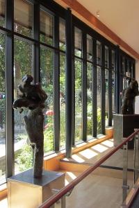 Alan Thornhill's exhbition at Stroud Museum, Summer 2012.