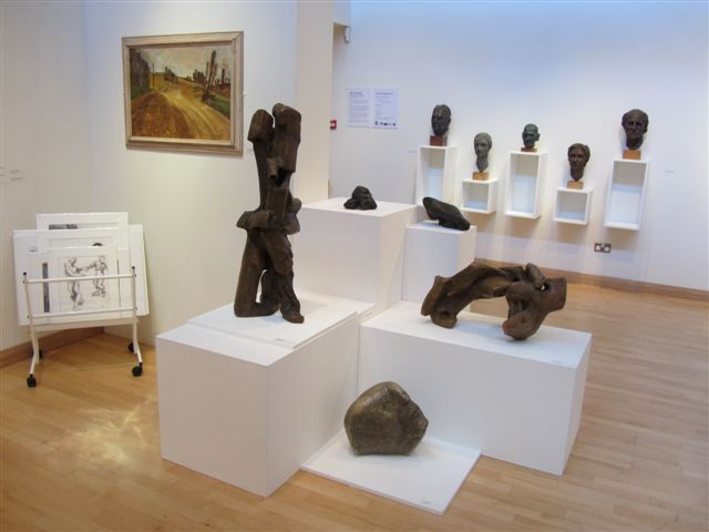 Sculptures, Drawings and Paintings