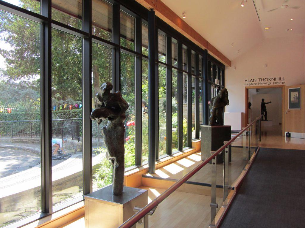Alan Thornhill's sculptures at Stroud Museum