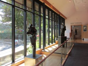 Alan Thornhill's sculpture at Stroud Museum