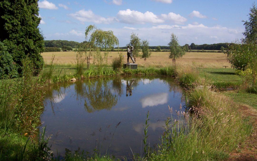 Alan Thornhill Sculptures at Kingscote Park, Gloucestershire
